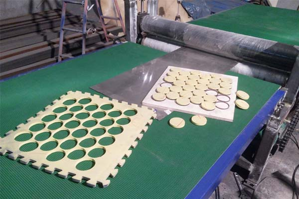海绵辊切机切割样品展示