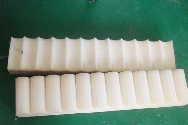 海绵线刀切割样品展示